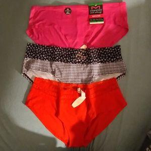 NWT Victoria's Secret Maidenform hiphugger panties